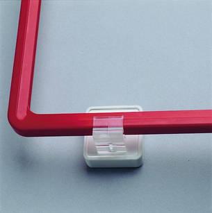 Магнит с зажимом для рам параллельно поверхности MGT-00, фото 2