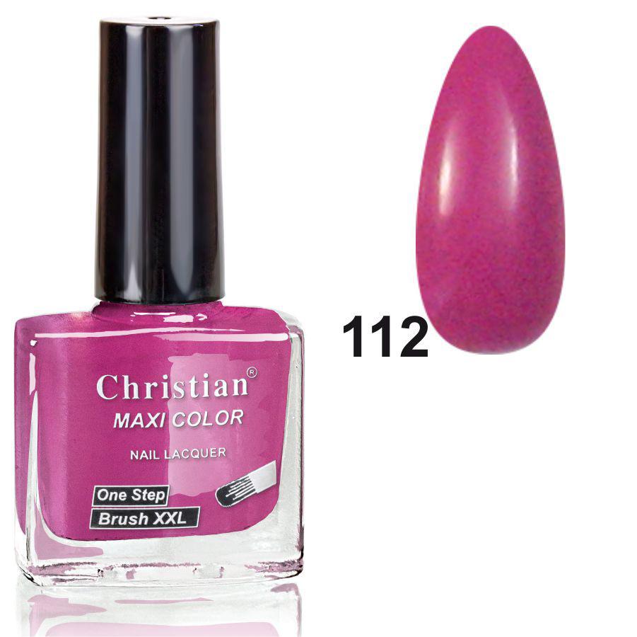 Лак для ногтей Christian № 112  11 ml NE-11