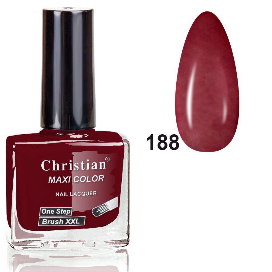 Лак для ногтей Christian № 188  11 ml NE-11