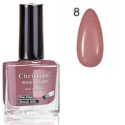 Лак для нігтів з ефектом гель-лаку Christian № 08 11 ml NE-11GEL