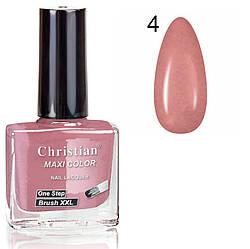 Лак для нігтів з ефектом гель-лаку Christian № 04 11 ml NE-11GEL