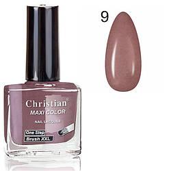 Лак для нігтів з ефектом гель-лаку Christian № 09 11 ml NE-11GEL