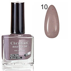 Лак для нігтів з ефектом гель-лаку Christian № 10 11 ml NE-11GEL