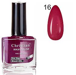 Лак для нігтів з ефектом гель-лаку Christian № 16 11 ml NE-11GEL