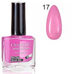 Лак для нігтів з ефектом гель-лаку Christian № 17 11 ml NE-11GEL