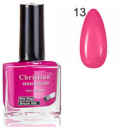 Лак для нігтів з ефектом гель-лаку Christian № 13 11 ml NE-11GEL