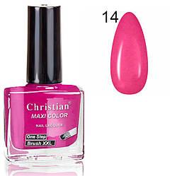 Лак для нігтів з ефектом гель-лаку Christian № 14 11 ml NE-11GEL