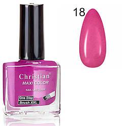 Лак для нігтів з ефектом гель-лаку Christian № 18 11 ml NE-11GEL