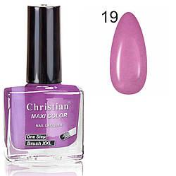 Лак для нігтів з ефектом гель-лаку Christian № 19 11 ml NE-11GEL