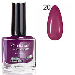 Лак для нігтів з ефектом гель-лаку Christian № 20 11 ml NE-11GEL