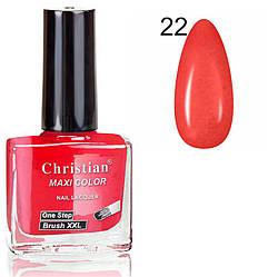 Лак для нігтів з ефектом гель-лаку Christian № 22 11 ml NE-11GEL