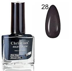 Лак для нігтів з ефектом гель-лаку Christian № 28 11 ml NE-11GEL