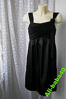 Платье женское элегантное вечернее черное бренд Blue Dog р.44