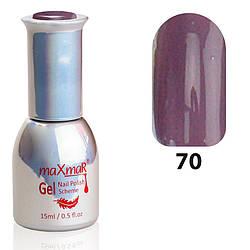Гель-Лак M-15 № 70 Бледно фиолетовый