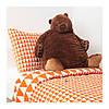 Мягкая игрушка IKEA DJUNGELSKOG бурый медведь 004.028.13, фото 4