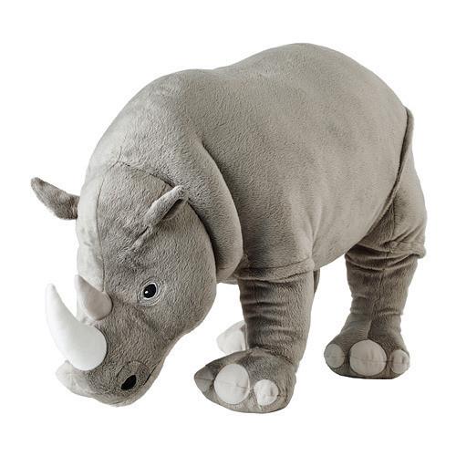 Мягкая игрушка IKEA DJUNGELSKOG носорог 704.085.76