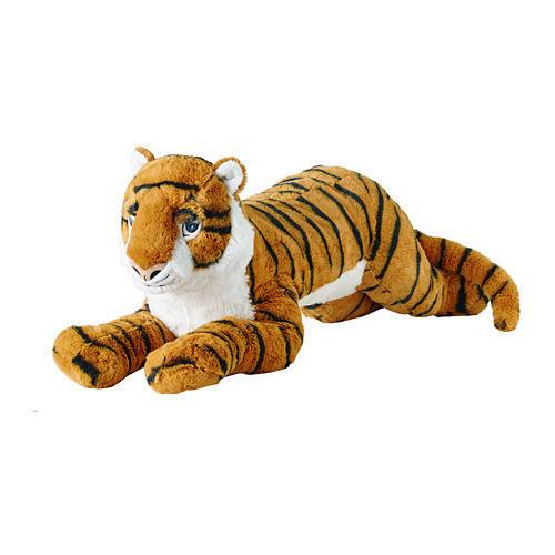 Мягкая игрушка IKEA DJUNGELSKOG тигр 704.085.81