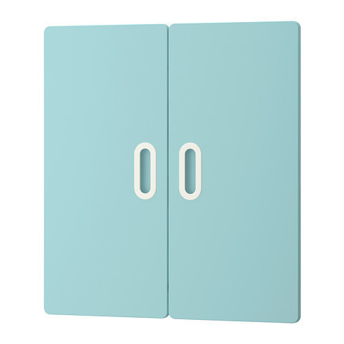 Дверца IKEA FRITIDS 60x64 см 2 шт голубая 403.786.13