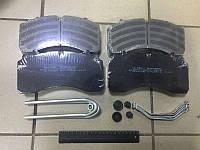 Колодка торм. диск. E-BRAKE (компл. на ось) SAF 22,5 (пр-во Winnard)