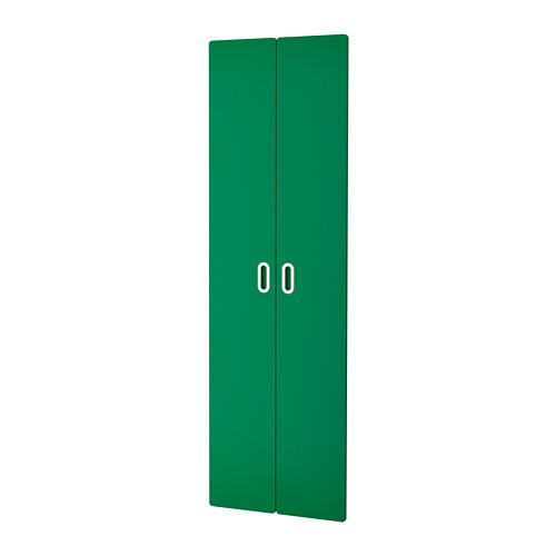 Дверца IKEA FRITIDS 60x192 см 2 шт зеленая 903.786.01