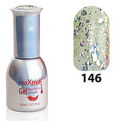 Гель-Лак M-15 № 146 Серебро с крупными блёстками