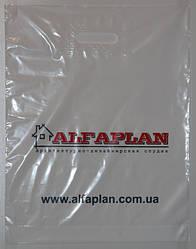 """Полиэтиленовые пакеты """"банан"""" с печатью (2 цвета)"""