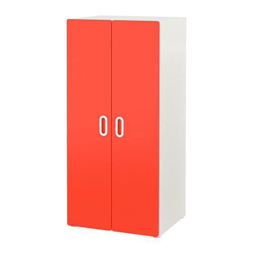 Шкаф для одежды IKEA STUVA / FRITIDS 60x50x128 см красный 792.528.01