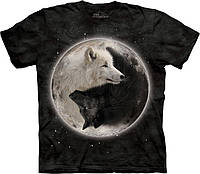 3D футболка The Mountain -  Yin Yang Wolves