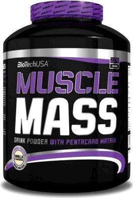 Гейнер Muscle Mass BioTech 2.27 кг