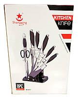 Набор кухонных ножей с подставкой Shanqxing YW-A223-1, Качество
