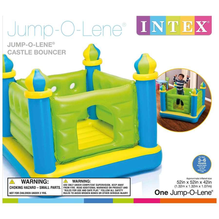 Детский батут Замок Intex 48257