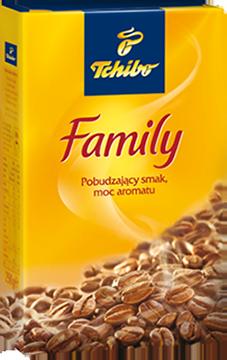 Немецкий молотый кофе Tchibo Family (Чибо Фемили) 250 г.