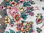 Песня Леля 1577-2, павлопосадский платок шерстяной  с шелковой бахромой, фото 5
