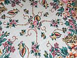 Песня Леля 1577-2, павлопосадский платок шерстяной  с шелковой бахромой, фото 4