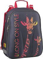 Рюкзак школьный ортопедический каркасный для девочки 531 Animal Planet‑1, фото 1