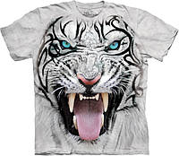 3D футболка The Mountain -  Big Face Tribal White Tiger