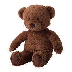 М'яка іграшка IKEA BRUNBJÖRN ведмідь 603.649.88