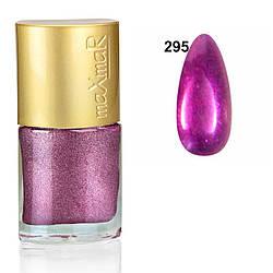 Лак для нігтів Crystal colors maXmaR № 295 9 ml MN-07