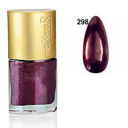 Лак для нігтів Crystal colors maXmaR № 298 9 ml MN-07