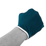 Перчатки для фитнеса PowerPlay 3418 (Синие) женские размер S, фото 2
