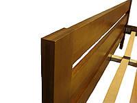 Дерев'яне ліжко 140х200 см