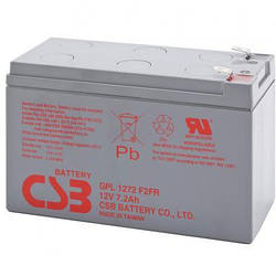 Аккумулятор CSB GPL1272F2 (12В 7.2Ач)