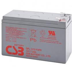 Акумулятор CSB GPL1272F2 (12В 7.2Ач)