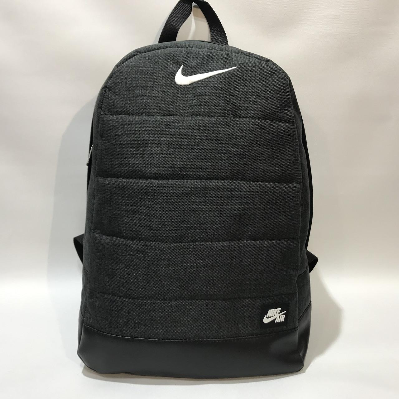 Рюкзак городской спортивный Nike Найк / мужской / темно-серый