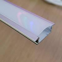 Врезной led профиль SV7 18,5x24,5 с Рассеивателем матовым, фото 1