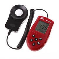 Цифровой люксметр измеритель освещенности фотометр (z01675)