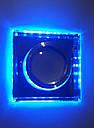 Встраиваемый светильник  6017 BL MR16 с LED подсветкой со сменой цветов, фото 2