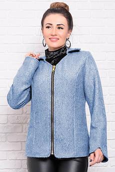 Модна молодіжна куртка Нора, блакитна