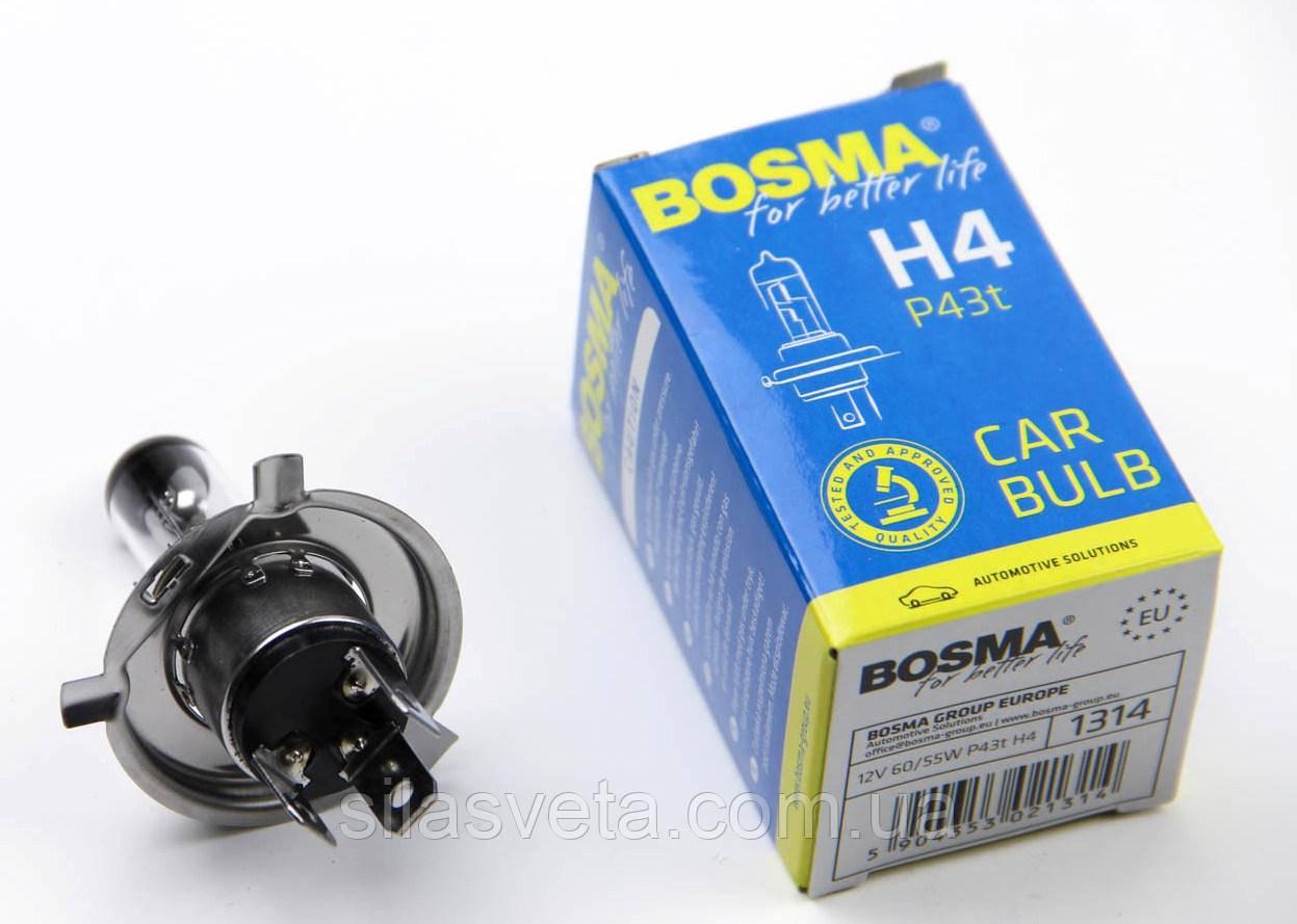 "Автолампа ""Bosma"" (H4)(12V)(60/55W)"