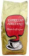 Зерновой Итальянский кофе Caffe Poli Espresso Italiano Арабика 20% Робуста 80%
